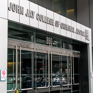 Exterior of John Jay College of Criminal Justice